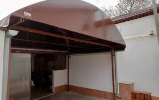 Terasă acoperită